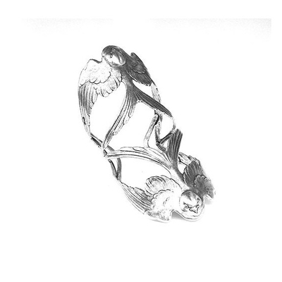 bracelet manchette double hirondelle Lotta Djossou