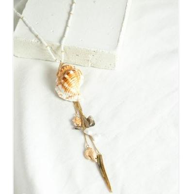 Collier Coquillages Beige - NACH