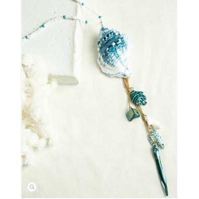 Collier Coquillages Bleu - NACH