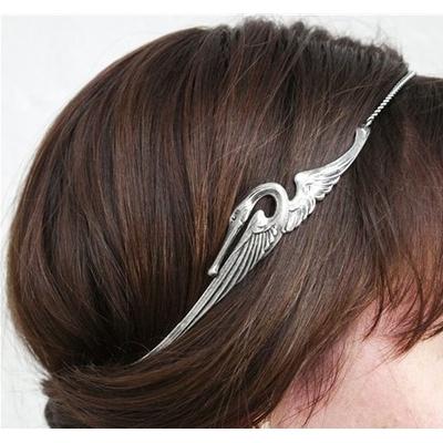 Bijou de tête headband cygne Lotta Djossou