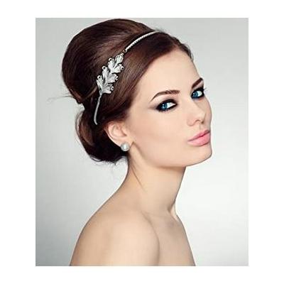 Bijou de tête headband feuille de chene Lotta Djossou