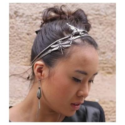 Bijou de tête headband libellule Lotta Djossou