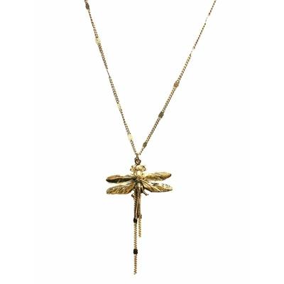 collier little libellule dore Lotta Djossou