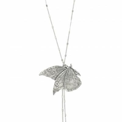 collier papillon argent Lotta Djossou