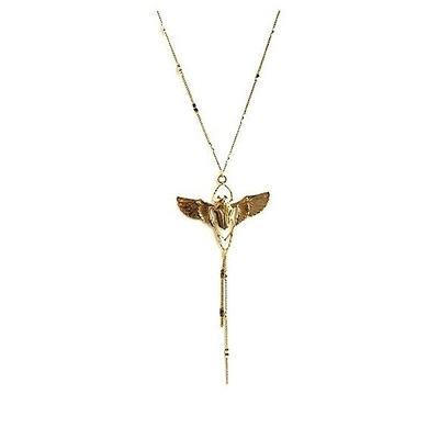 collier scarabee 2 doré Lotta Djossou