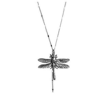 collier sautoir libellule Lotta Djossou