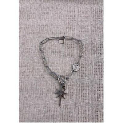 Bracelet CONSTELLATION argenté acier inoxydable - Mile Mila