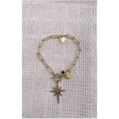Bracelet CONSTELLATION doré acier inoxydable - Mile Mila