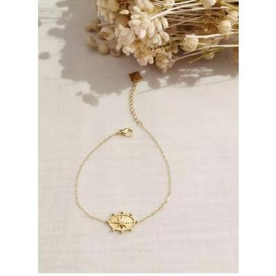 Bracelet étoile doré acier inoxydable - Mile Mila