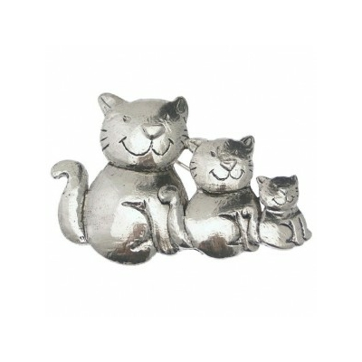 broche collection cats deus 7cm x 5 cm