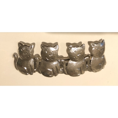 Barrette cheveux chat - Collection CAT DEUS - Lili La Pie