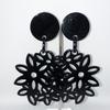 BO fleurs noires résine clips Marion Godart 29