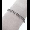 Bracelet pampilles argent H0.5cm L0.2cm acier inoxydable Milë Mila  M5BR02 18.9