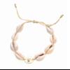 Bracelet cauri marianne doré pendentif H1.00cm x L1.00cm acier inoxydable Milë Mila  M19B23 14.4