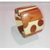 Bracelet élastiqué bois résine modèle 2 Marion Godart 119 2