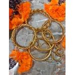 Bague anneau temple tibétain bouddhiste poudre d'or et huile dans tube scellé - La Belle Simone Bijoux 3
