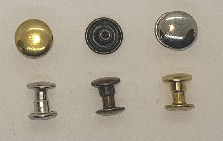 rivets pour maroquinerie (par 100)