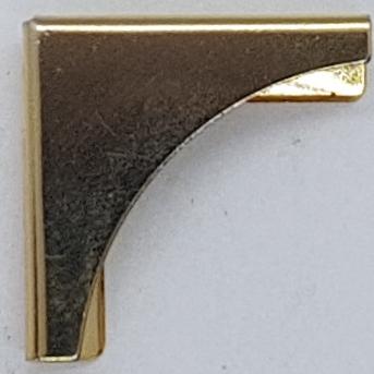 coin metallique maroquinerie