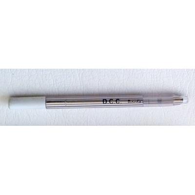 stylo argent pour cuir