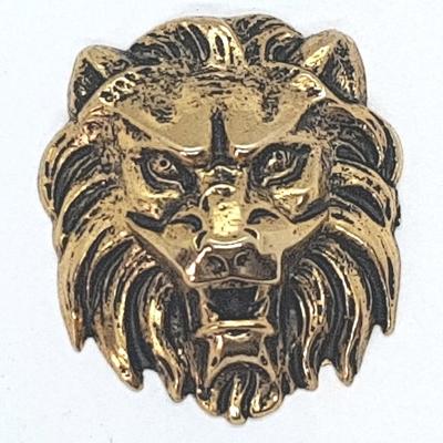 motif tete de lion