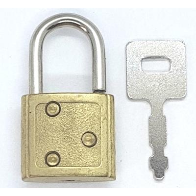 cadenas maroquinerie  + clé
