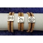 passant bracelet cuir