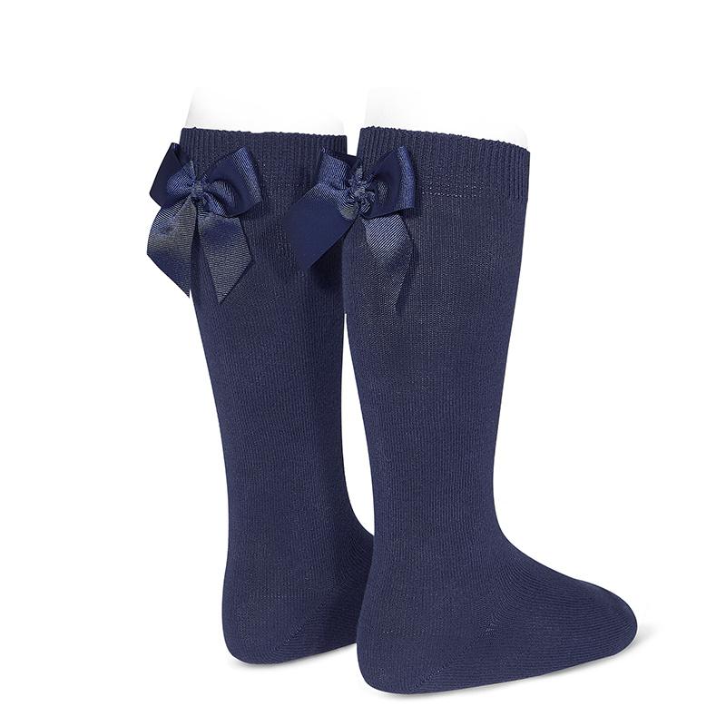 chaussettes-hautes-avec-noeud-gross-grain-derriere-bleu-marine