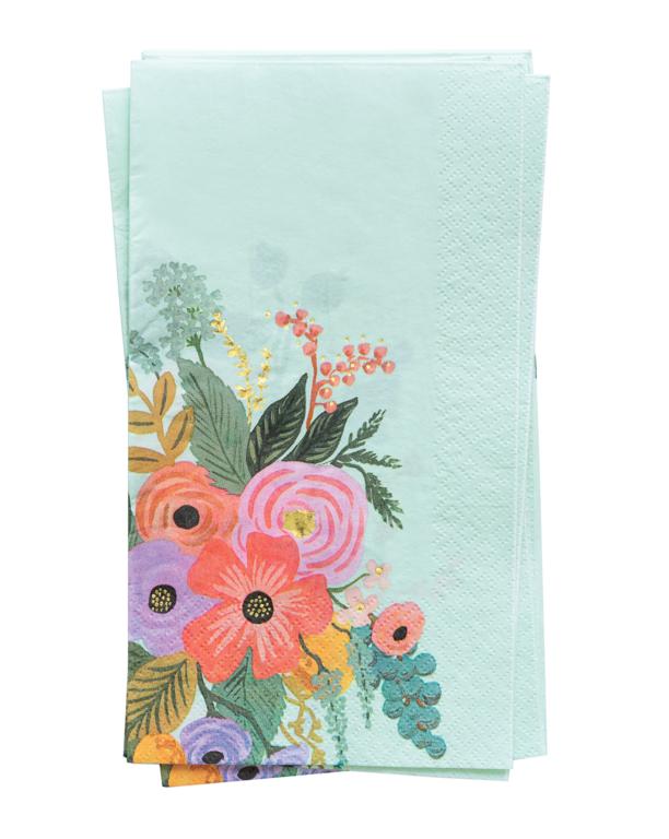20 serviettes en papier guest - Garden party