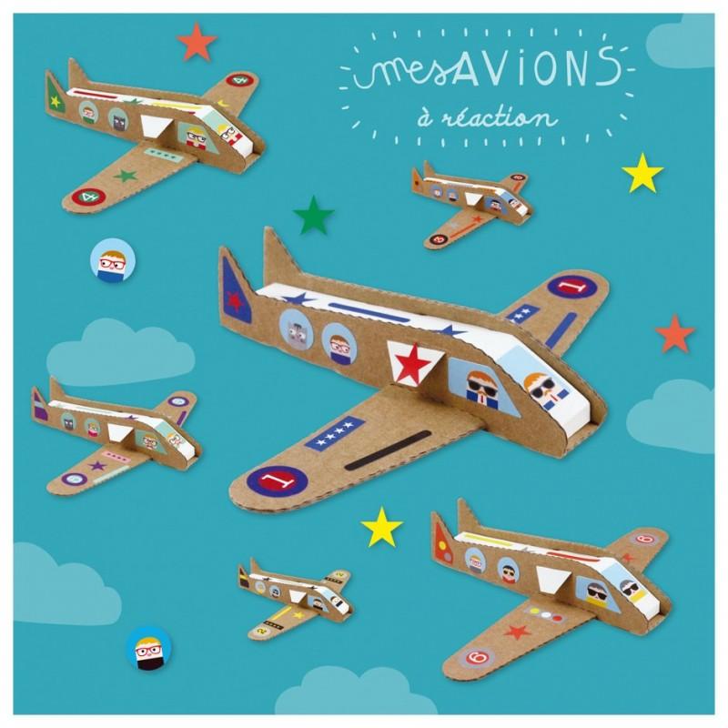 Kit créatif Avions à réaction