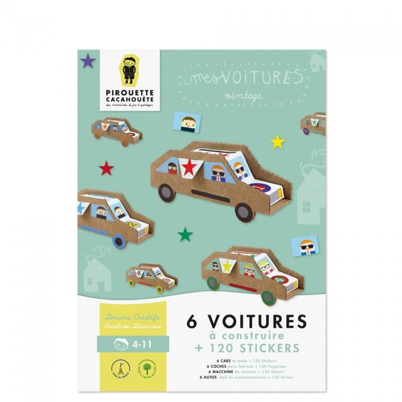 Kit créatif Voitures vintage