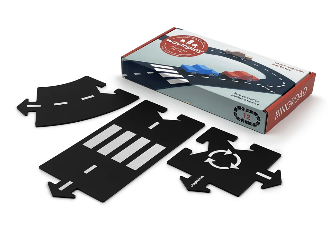 Circuit modulable pour voitures - 12 pièces - Ringroad / périphérique