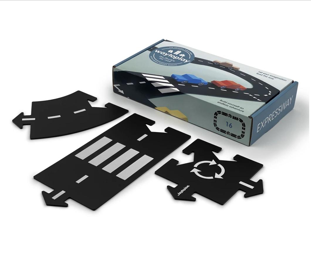 Circuit modulable pour voitures - 16 pièces - Expressway / route nationale