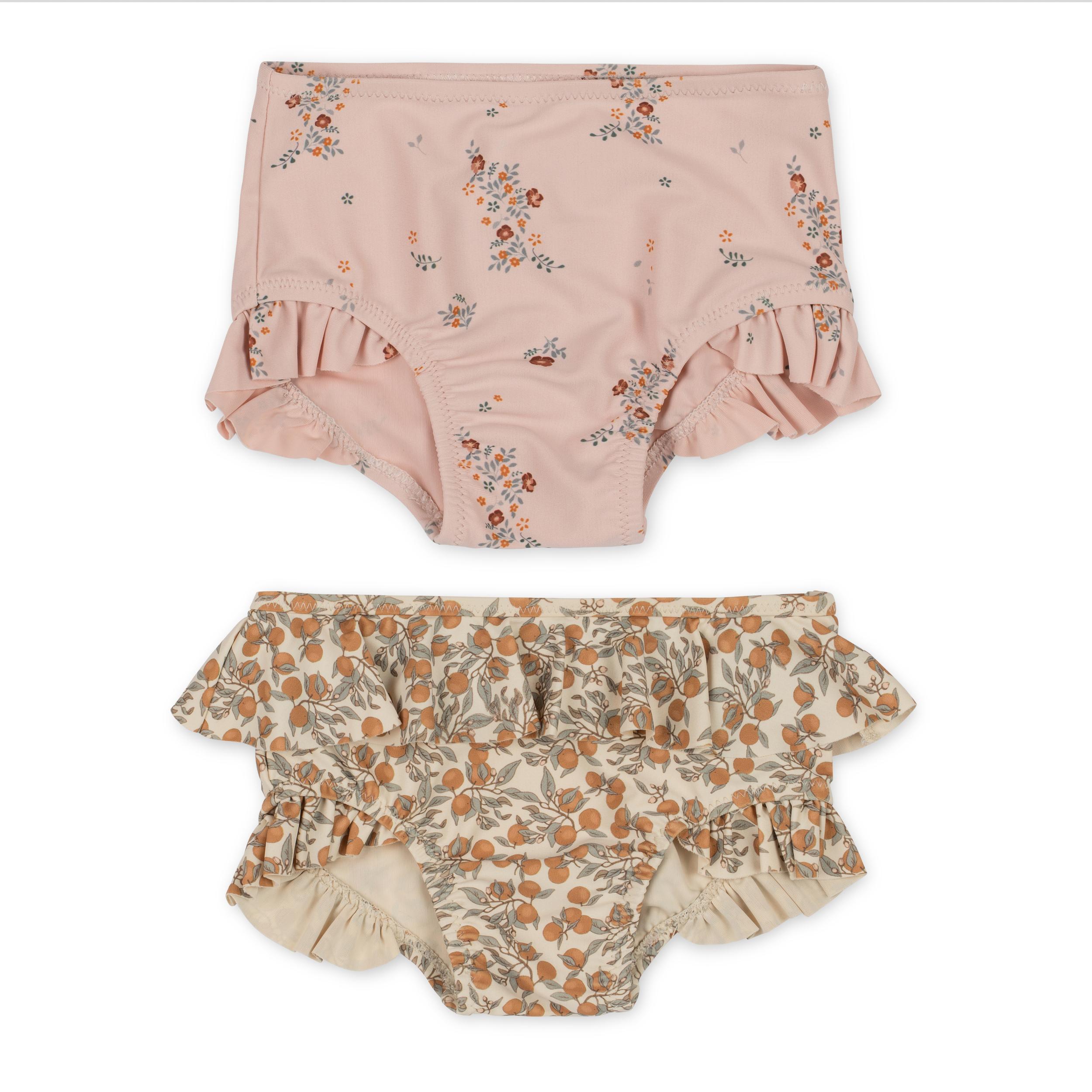 Lot de 2 maillots de bain enfant - Orangery beige, nostalgie blush