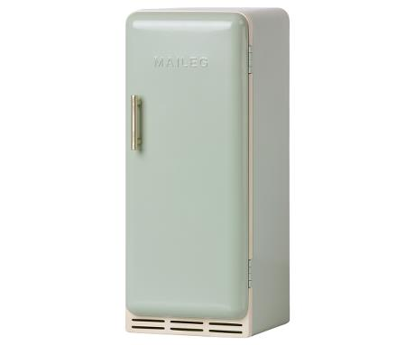 Réfrigérateur miniature Maileg en métal coloris mint