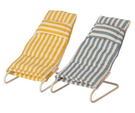 Lot de 2 chaises de plage Maileg