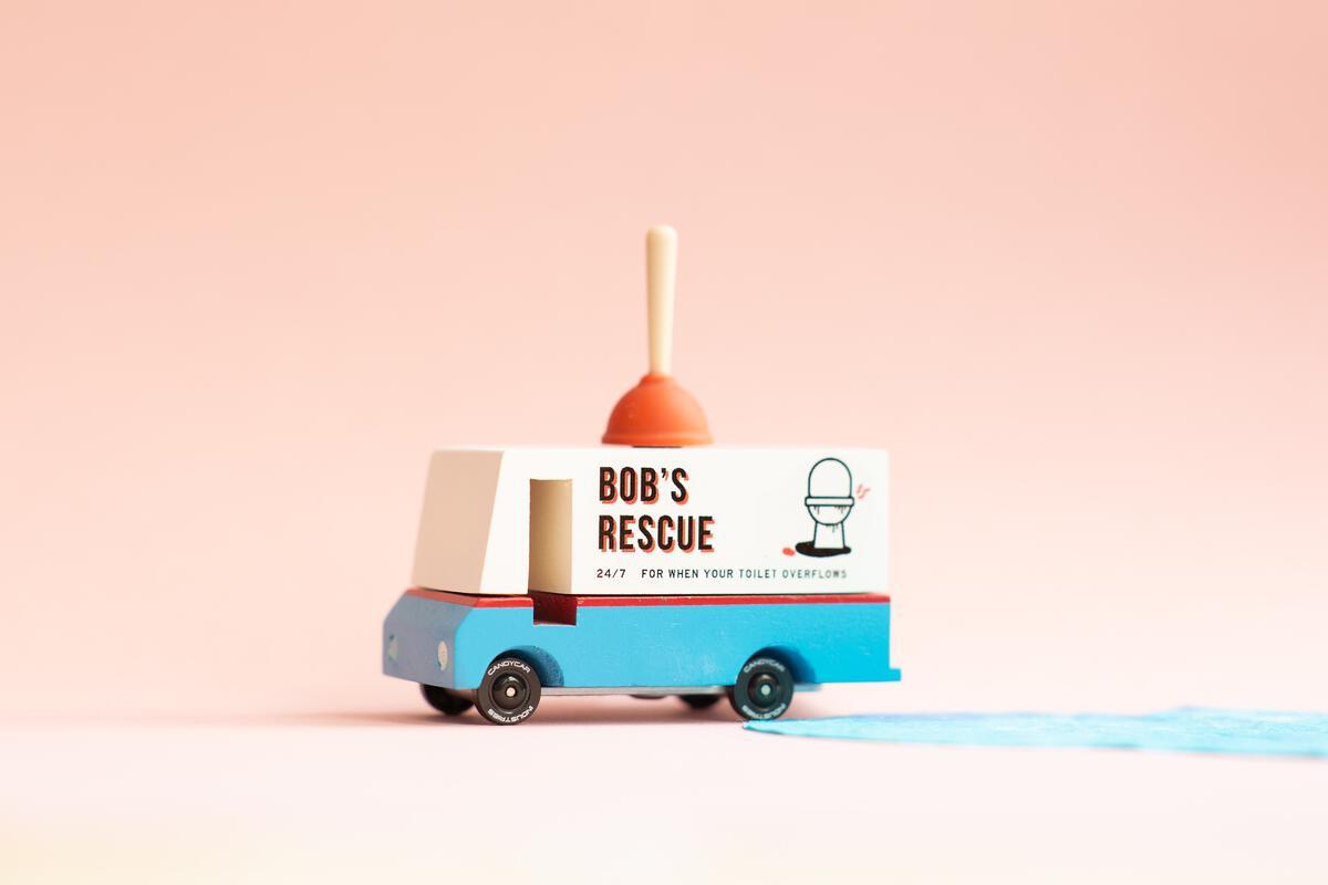 Bob\'s Plumbing - Camion de Bob le Plombier