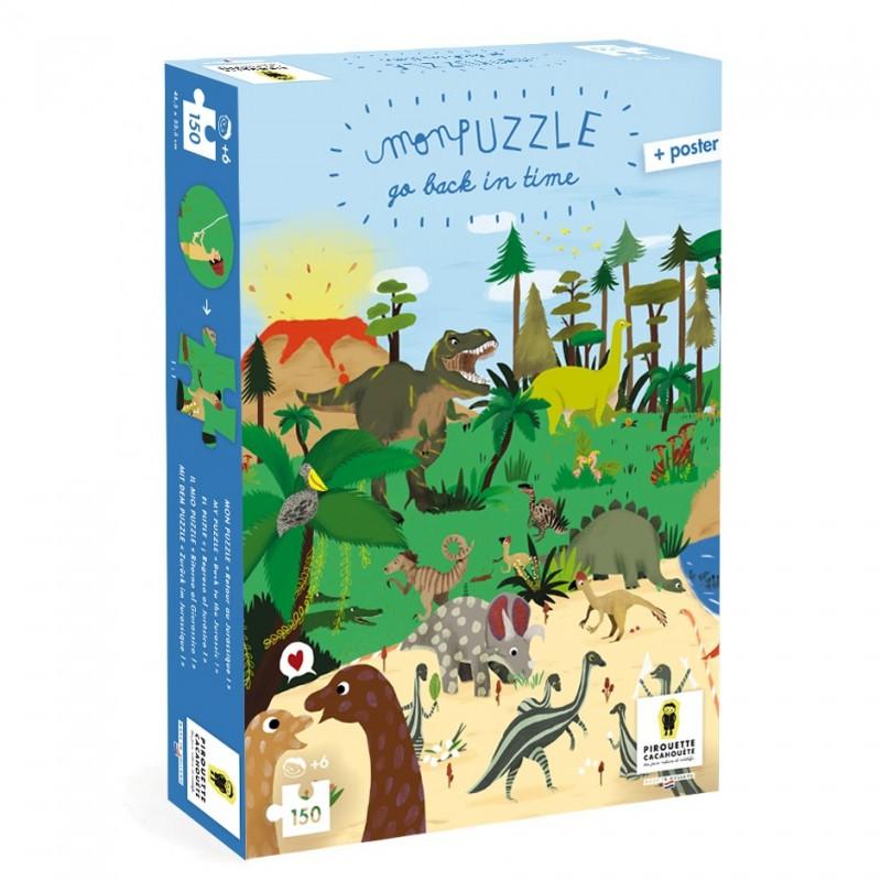 Puzzle Dinosaure 150 pièces