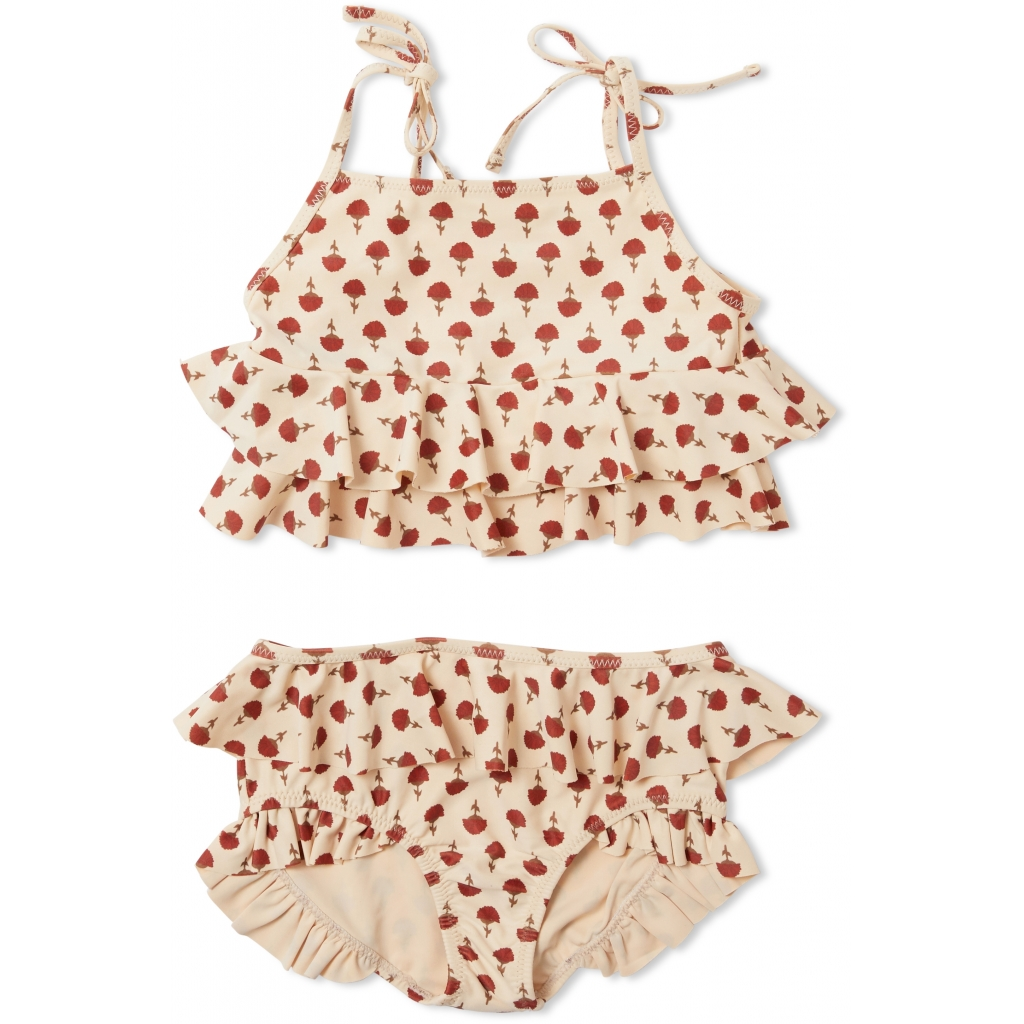 Maillot de bain enfant 2 pièces - Manuca poppyflower red
