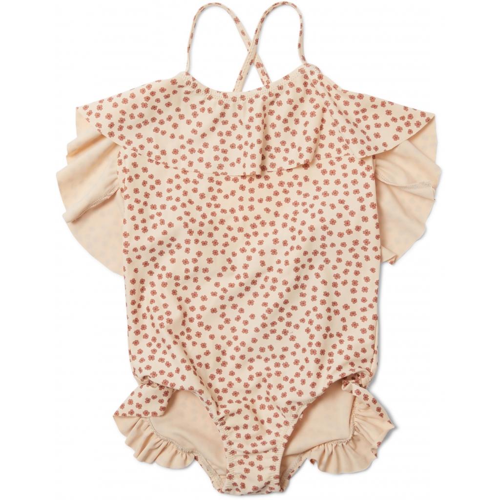 Maillot de bain enfant 1 pièce - Manuca buttercup rosa