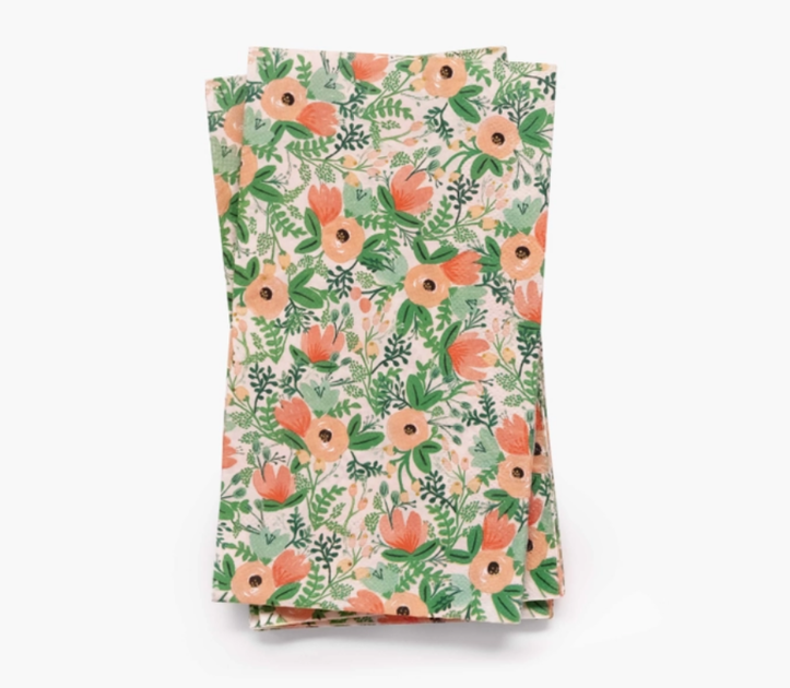 20 serviettes en papier guest - Wildflower