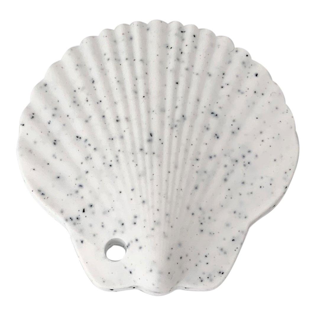 Jouet de dentition coquillage coloris white
