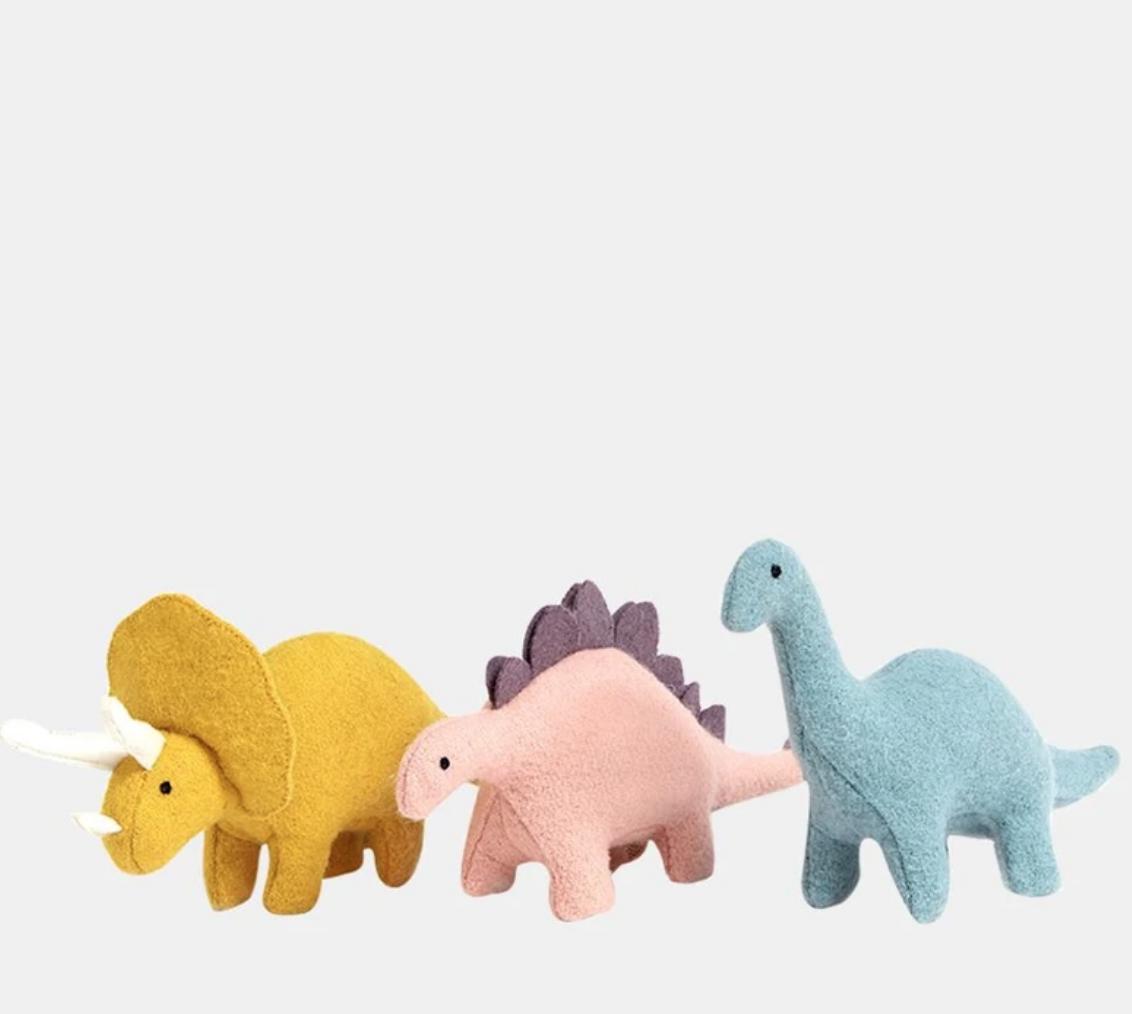 ollie ella holdie dinosaures