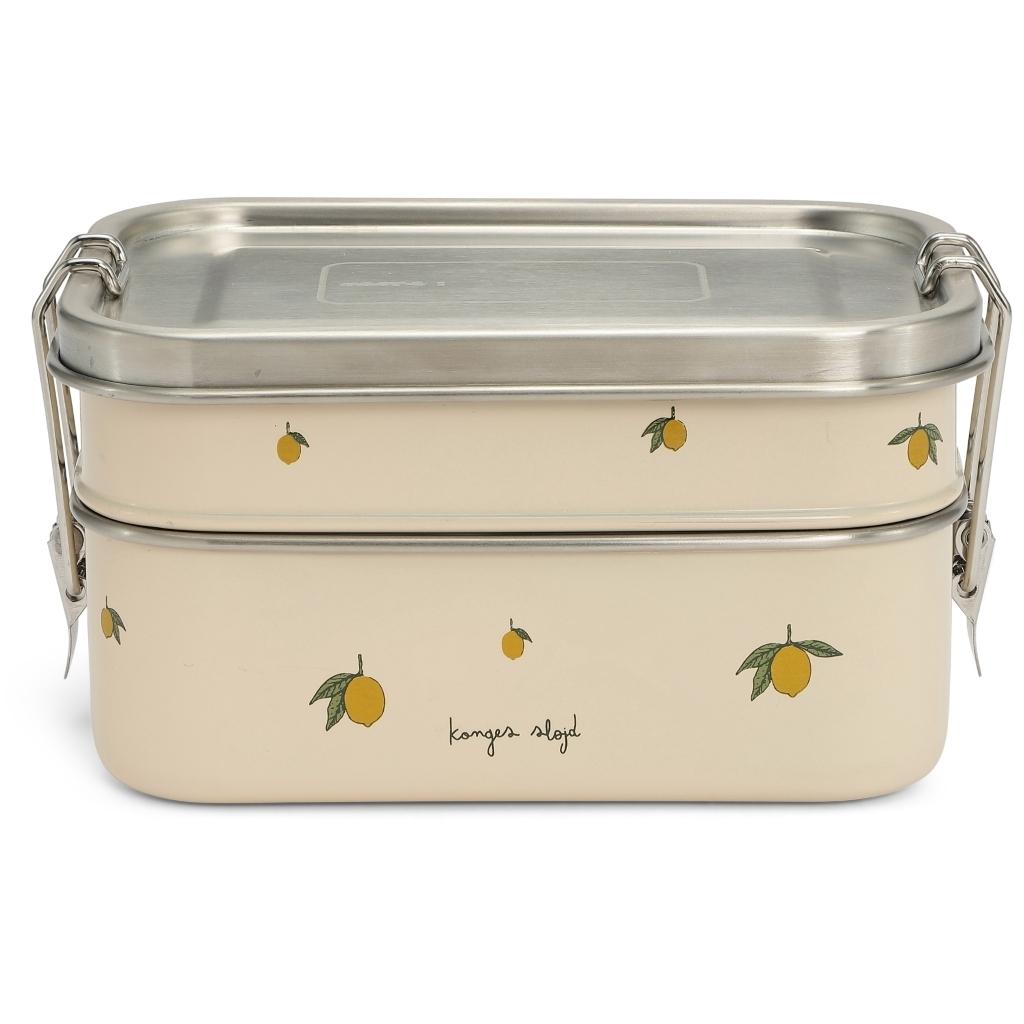 Lunch Box étanche imprimé Lemon
