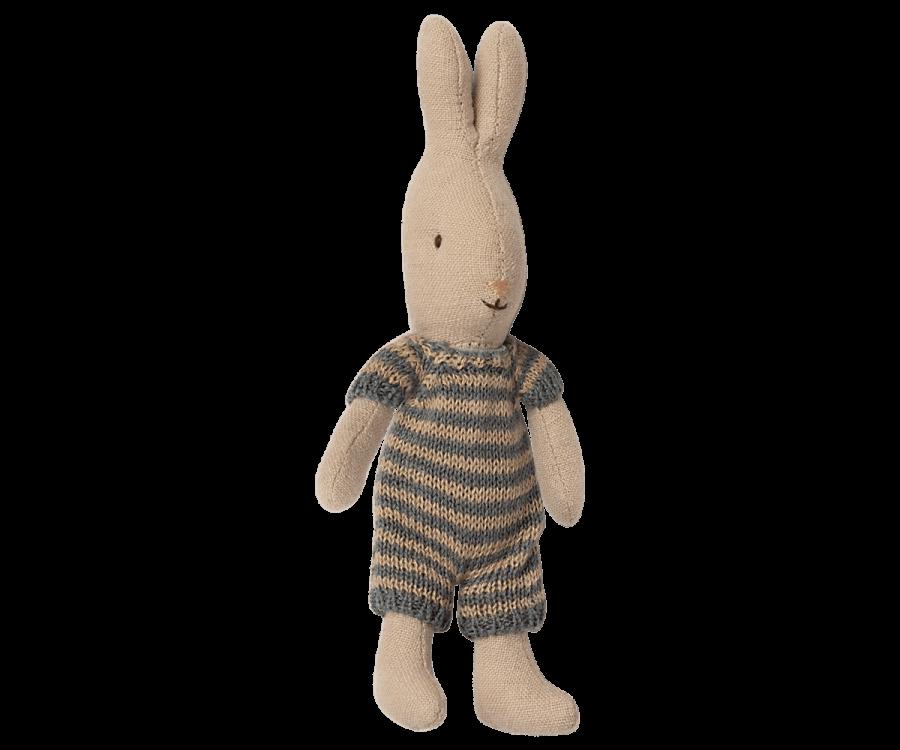Lapin Maileg : micro lapin et sa barboteuse grey