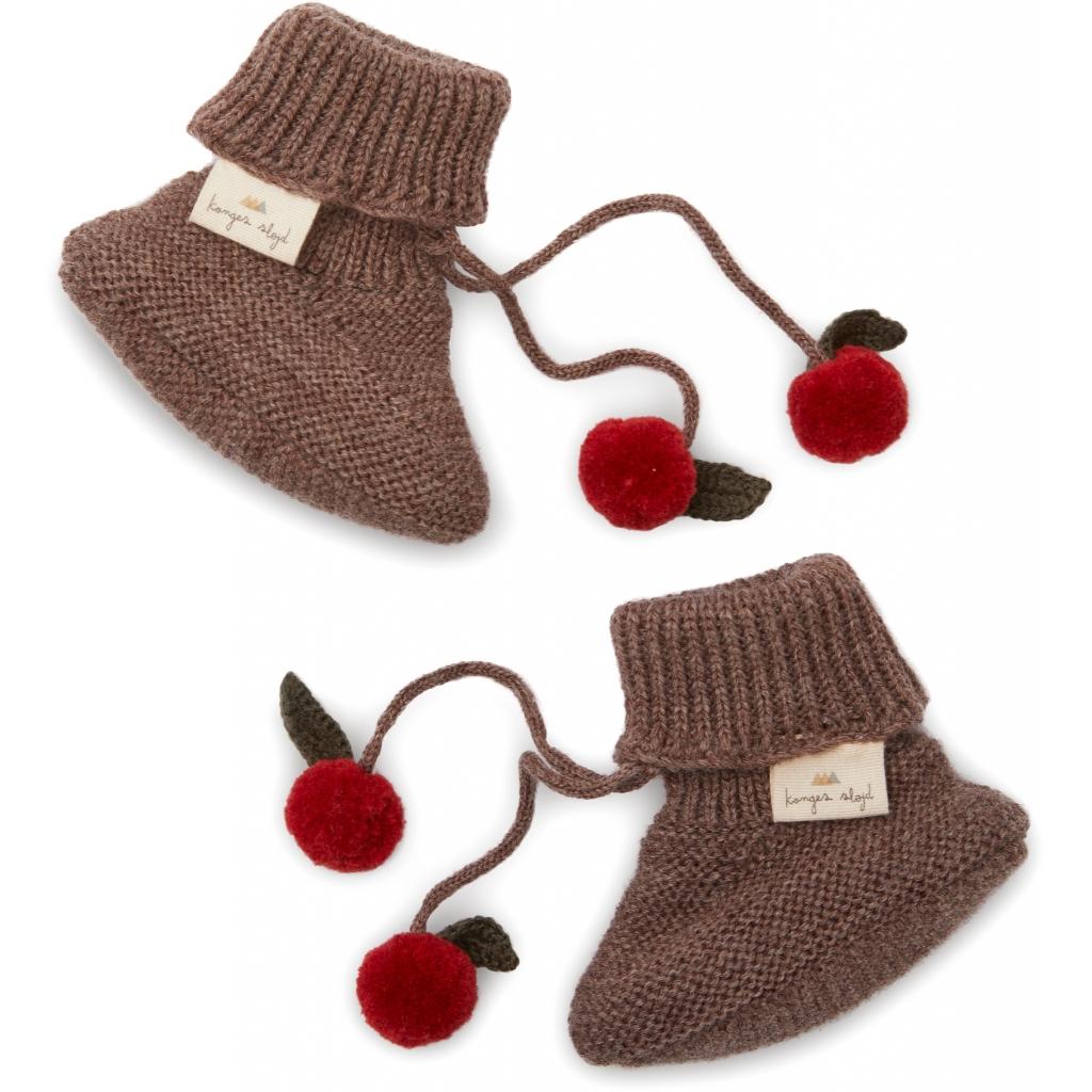 Chaussons tricotés Miro coloris Bunny Brown