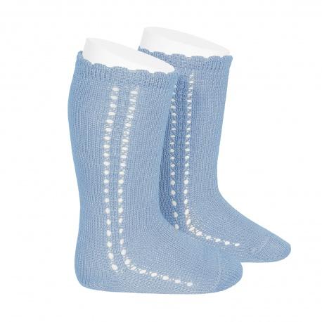 perle-side-openwork-knee-high-socks-bluish-2