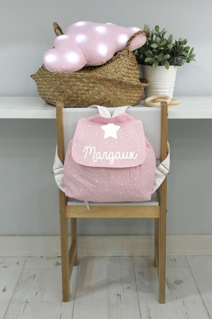 sac à dos rose première étoile M B