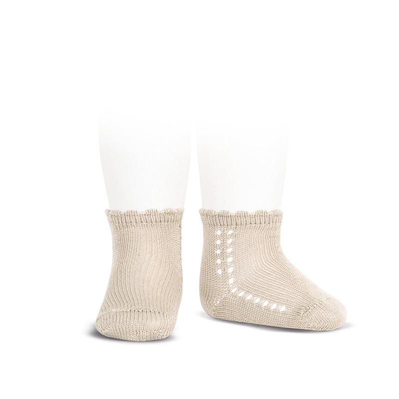 perle-side-openwork-short-socks-linen