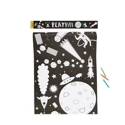 Rouleau de 8m de coloriage thème Espace