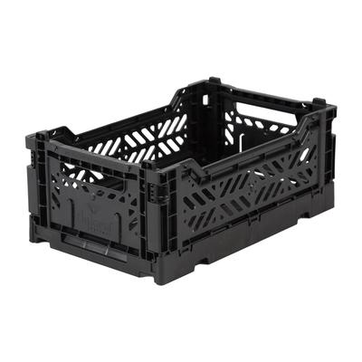 Caisse de rangement pliable Small coloris Black